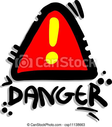 signaal, gevaar - csp11138663