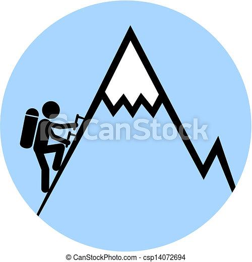 signaal, klimmen - csp14072694