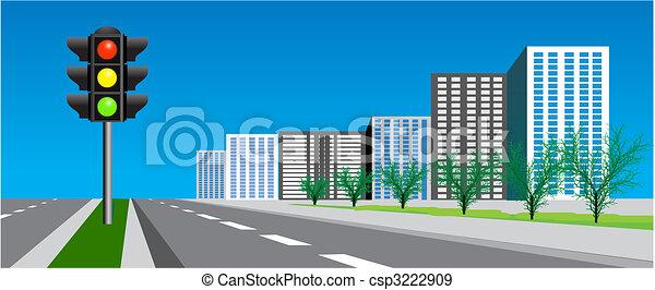 signaal, verkeer - csp3222909