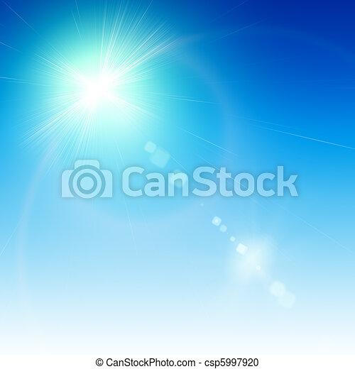 signalljus, abstrakt, bakgrund - csp5997920