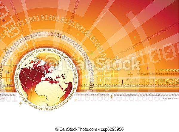 signaltjänst, global - csp6293956