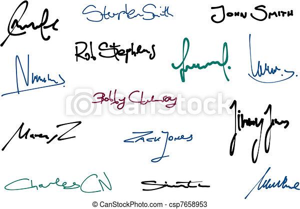 Signatures - csp7658953