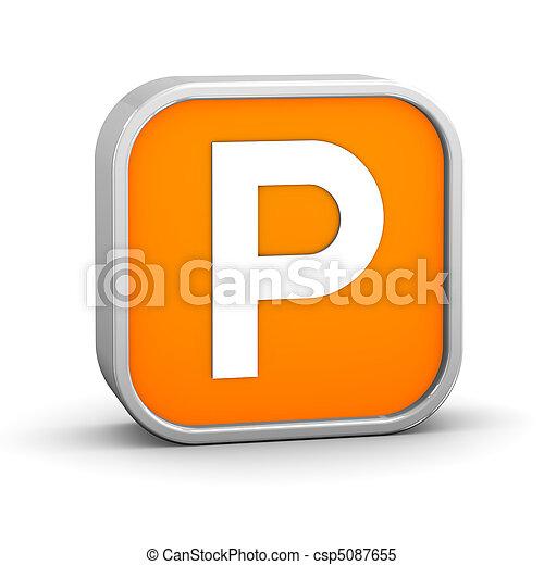 signe parking - csp5087655