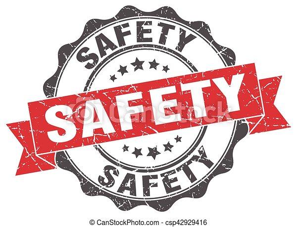 signe., stamp., label sécurité - csp42929416