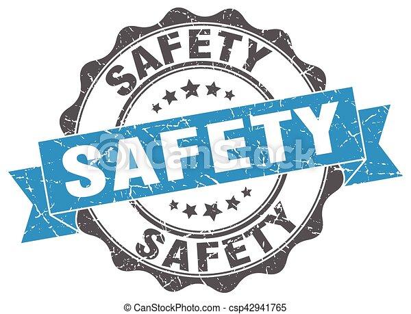 signe., stamp., label sécurité - csp42941765