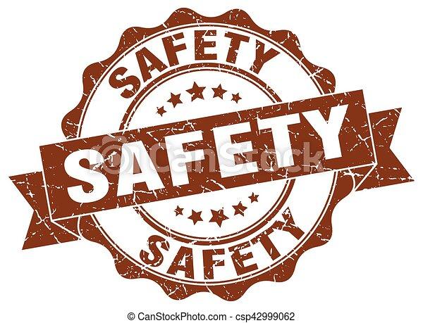 signe., stamp., label sécurité - csp42999062
