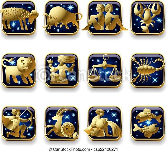 signes zodiaque - csp22426271