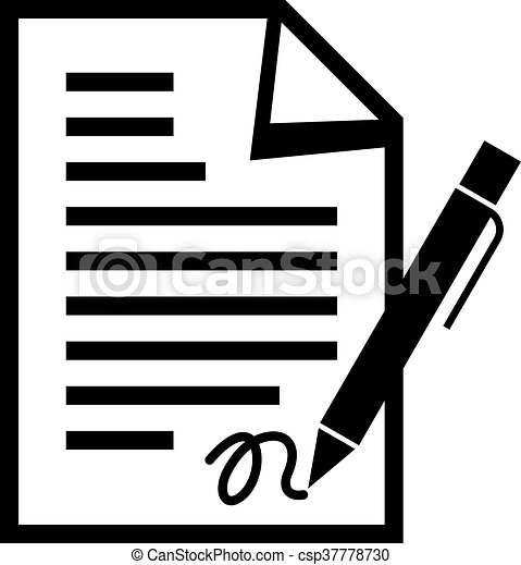 signing a document vectors search clip art illustration drawings rh canstockphoto com document clipart gif document clipart gif