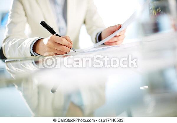 Signing paper - csp17440503