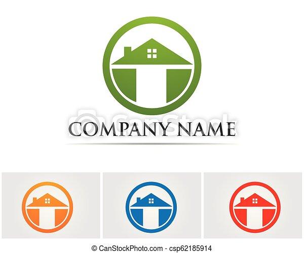 Diseño de Propiedad y Logo de Construcción para el letrero empresarial - csp62185914