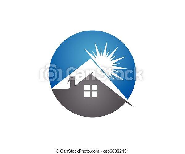 Diseño de Propiedad y Logo de Construcción para el letrero empresarial - csp60332451