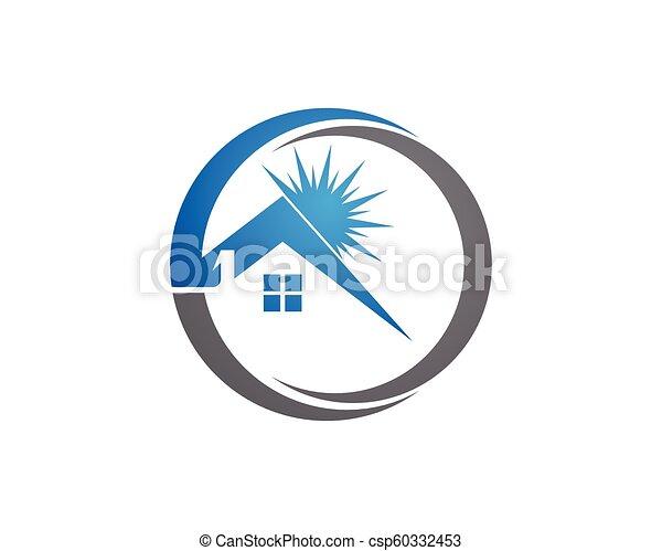 Diseño de Propiedad y Logo de Construcción para el letrero empresarial - csp60332453