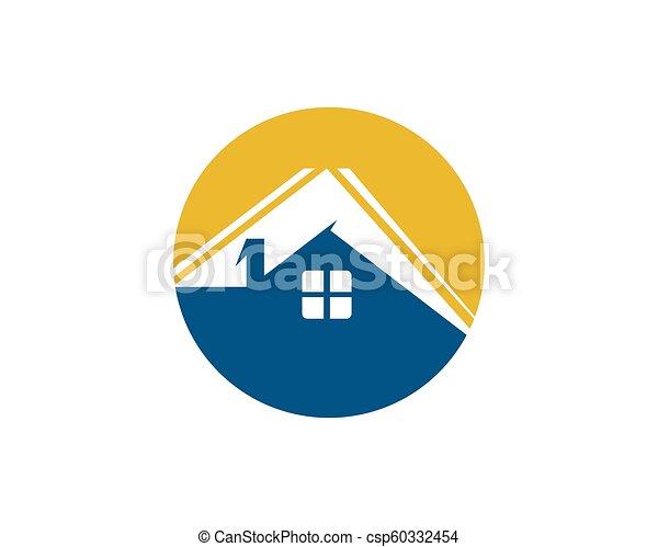 Diseño de Propiedad y Logo de Construcción para el letrero empresarial - csp60332454