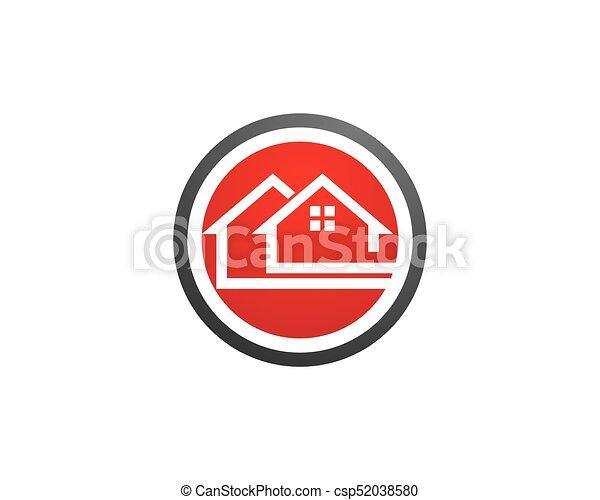 Diseño de Propiedad y Logo de Construcción para el letrero empresarial - csp52038580
