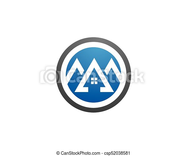 Diseño de Propiedad y Logo de Construcción para el letrero empresarial - csp52038581