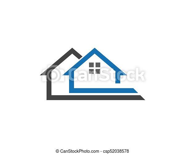 Diseño de Propiedad y Logo de Construcción para el letrero empresarial - csp52038578