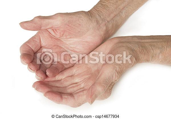 Tenendo le mani agganciare