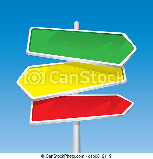 Signpost - csp0812119
