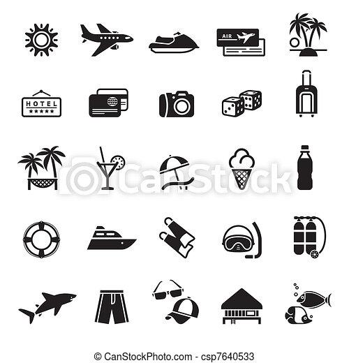 Signs. Vacation, Travel & Recreatio - csp7640533