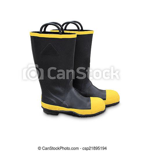 sikkerhed, sko - csp21895194