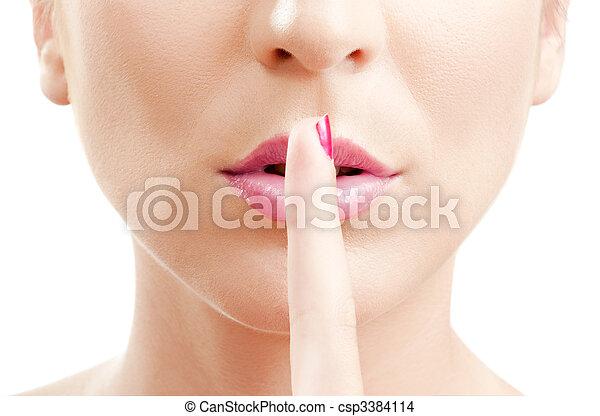 Silence - csp3384114