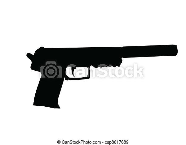 Silencer Pistol - csp8617689