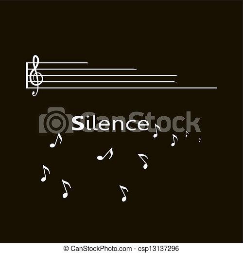 Silencio - csp13137296