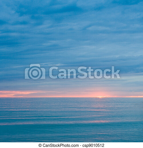 silent, hav, halvmørket - csp9010512