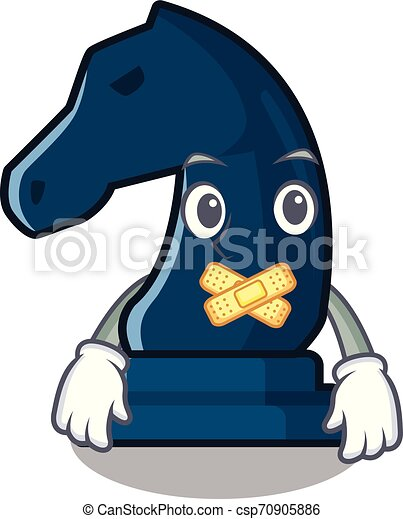 Silent knight chess toys in character shape - csp70905886