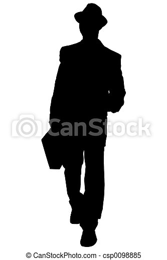Silhouette Business - csp0098885