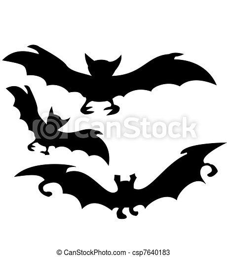 Silhouette chauve souris halloween dessins rechercher - Modele dessin chauve souris ...