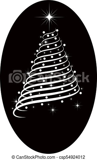 Christmas Tree Clipart Silhouette.Silhouette Christmas Tree Vector Clip Art Search