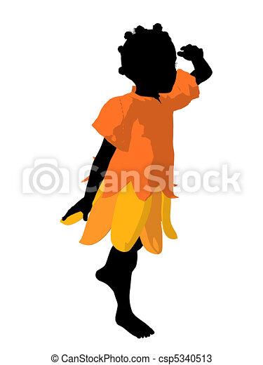 Silhouette illustration am ricain africaine f e - Africaine dessin ...