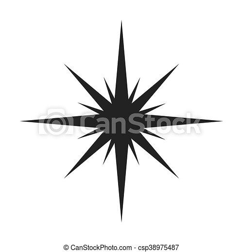 silhouette noir toile ic ne silhouette illustration vecteur conception toile ic ne noir. Black Bedroom Furniture Sets. Home Design Ideas