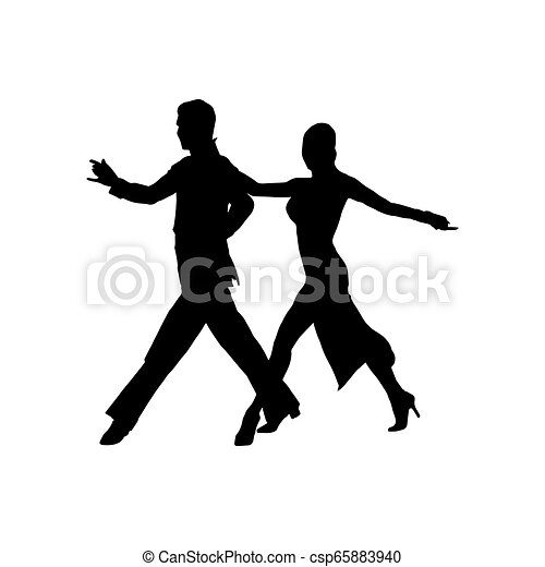 Silhouette Of A Pair Of Dancers Ballroom And Sport Dance Ballroom And Sport Dance Silhouette Of A Pair Of Dancers