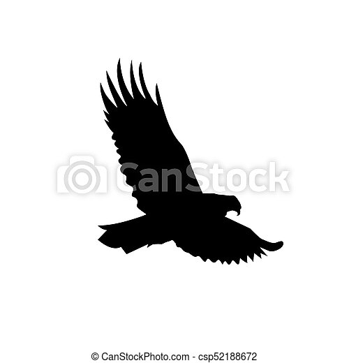 Silhouette Of Eagle Silhouette Of Flying Eagle Canstock Print just the eagle.stl file and hang it on your wall. https www canstockphoto com silhouette of eagle 52188672 html