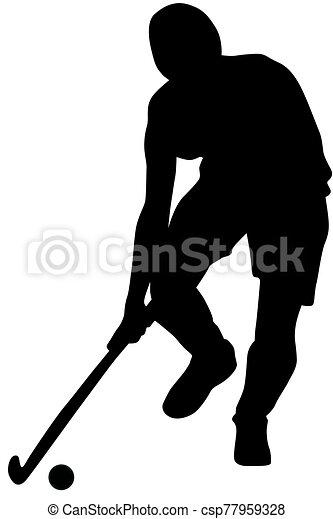 Feldhockey Vektorgrafiken, Cliparts Und Illustrationen Kaufen - 123RF
