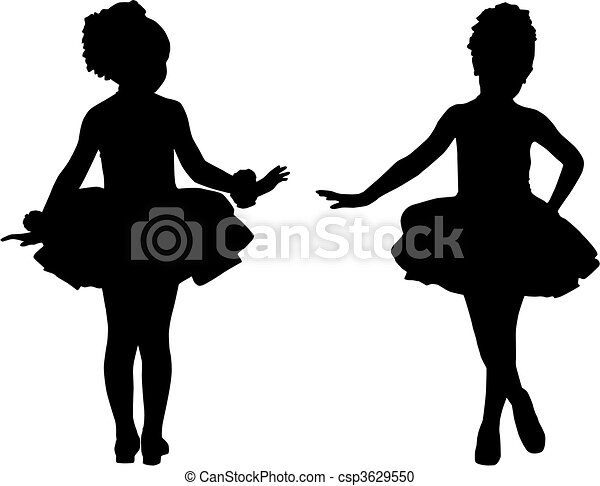 silhouette small ballerinas silhouette children ballet clip art of dancer with flowers clip art of dancer with bouquet