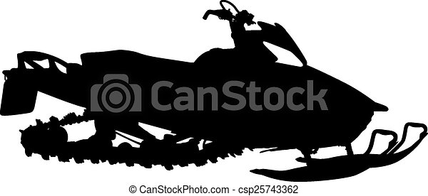 silhouette snowmobile on white background vector Sailfish Art sailfish clip art that is not a square picture