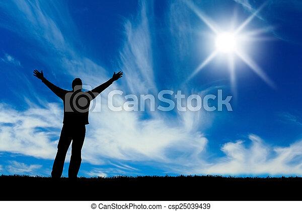 Silhouette  - csp25039439