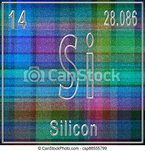Silicon atomic number valency