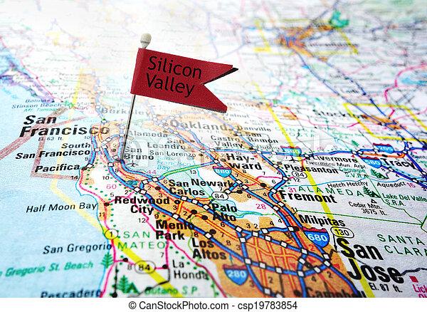Silicon Valley flag - csp19783854