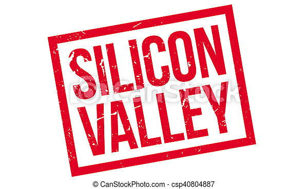 Silicon Valley rubber stamp - csp40804887