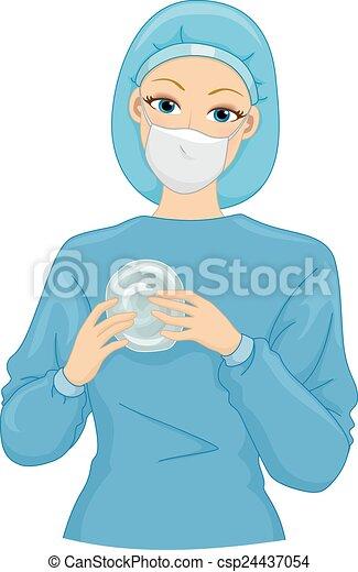 Silicone Implant - csp24437054