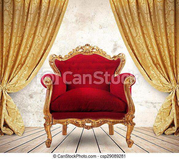 Un sillón real - csp29089281