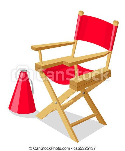 La silla del director - csp5325137