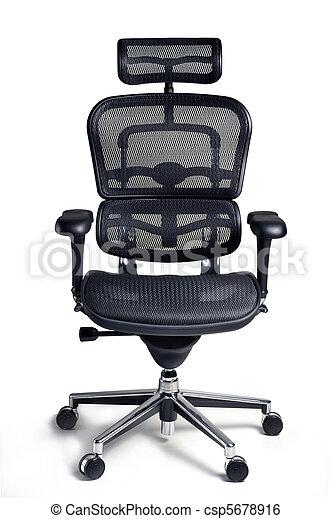 La silla de oficina - csp5678916