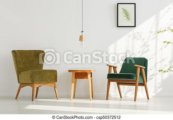 Sillas elegante verde habitaci n habitaci n cl sico fotograf a de archivo buscar - Sillas de habitacion ...
