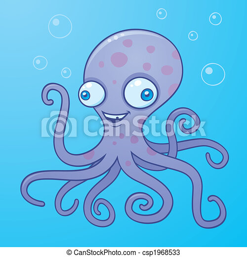 Silly Octopus - csp1968533