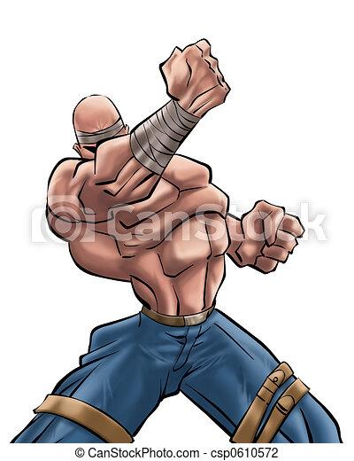 silny człowiek - csp0610572
